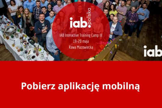 MKonferencja na IAB Interactive Training Camp 2016